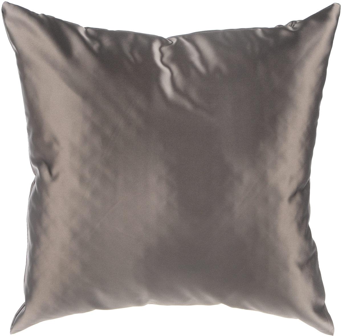 Подушка декоративная KauffOrt Крем, цвет: темно-серый, 40 x 40 см3121300669Декоративная подушка Ночь прекрасно дополнит интерьер спальни или гостиной. Чехол подушки выполнен из прочного полиэстера. Внутри находится мягкий наполнитель. Чехол легко снимается благодаря потайной молнии.Красивая подушка создаст атмосферу уюта и комфорта в спальне и станет прекрасным элементом декора.