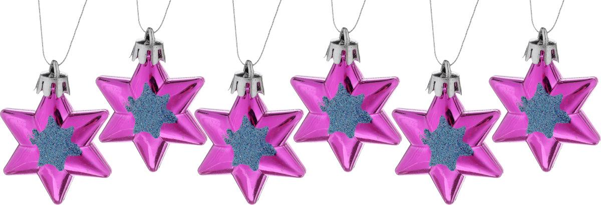 Набор новогодних подвесных украшений House & Holder Звезды, 6 штC0042415Набор подвесных украшений House & Holder Звезды прекрасно подойдет для праздничного декора новогодней ели. Набор состоит из 6 пластиковых украшений. Для удобного размещения на елке для каждого украшения предусмотрено петелька. Елочная игрушка - символ Нового года. Она несет в себе волшебство и красоту праздника. Создайте в своем доме атмосферу веселья и радости, украшая новогоднюю елку нарядными игрушками, которые будут из года в год накапливать теплоту воспоминаний. Откройте для себя удивительный мир сказок и грез. Почувствуйте волшебные минуты ожидания праздника, создайте новогоднее настроение вашим дорогим и близким.Размер: 4 х 1,5 х 4,5 см.