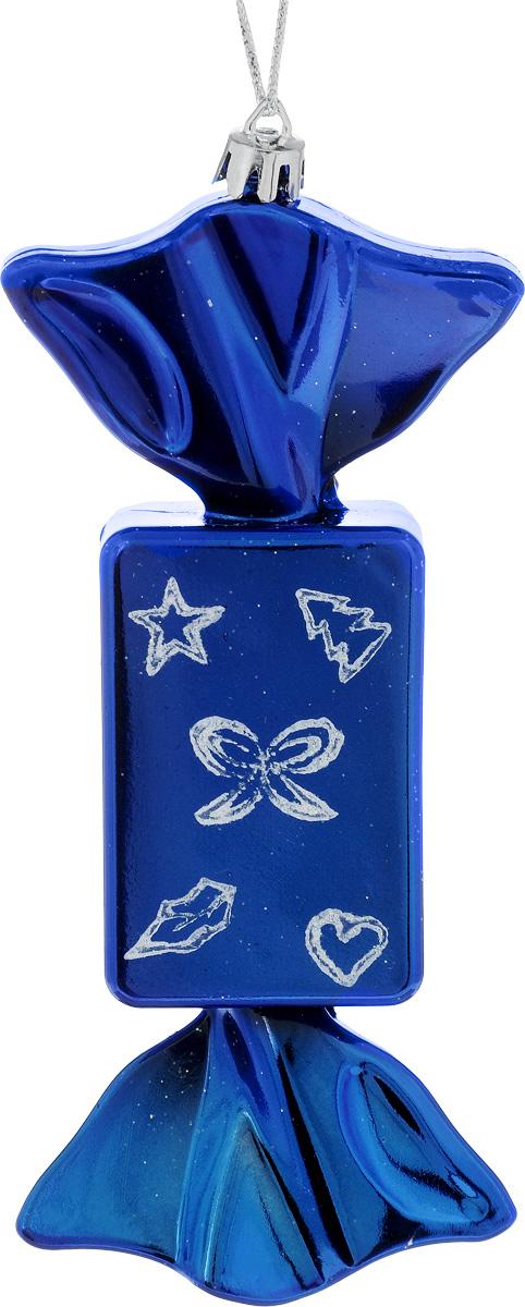 Украшение новогоднее подвесное House & Holder Конфета, 7 х 4 х 17 см09840-20.000.00Новогоднее подвесное украшение House & Holder Конфета выполнено из пластмассы. С помощью специальной петельки украшение можно повесить в любом понравившемся вам месте. Но, конечно, удачнее всего оно будет смотреться на праздничной елке.Елочная игрушка - символ Нового года. Она несет в себе волшебство и красоту праздника. Создайте в своем доме атмосферу веселья и радости, украшая новогоднюю елку нарядными игрушками, которые будут из года в год накапливать теплоту воспоминаний.Размер: 7 х 4 х 17 см.