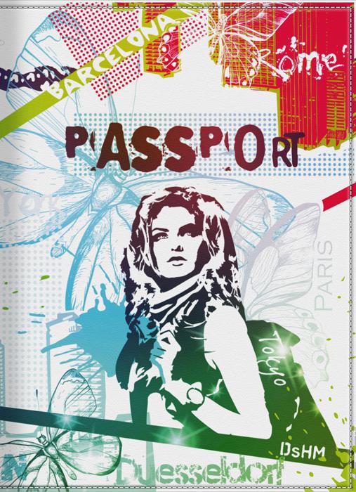 Обложка для паспорта женская КвикДекор Жизнь в красках, цвет: мультиколор. DC-15-0002-196050Оригинальная, яркая и качественная обложка для паспорта КвикДекор Жизнь в красках изготовлена из качественной экокожи. Подходит для всех видов паспортов, как общегражданских, так и заграничных. Изображение устойчиво к стиранию. Изделие раскладывается пополам.Яркий современный дизайн, который является основной фишкой данной модели, будет радовать глаз.