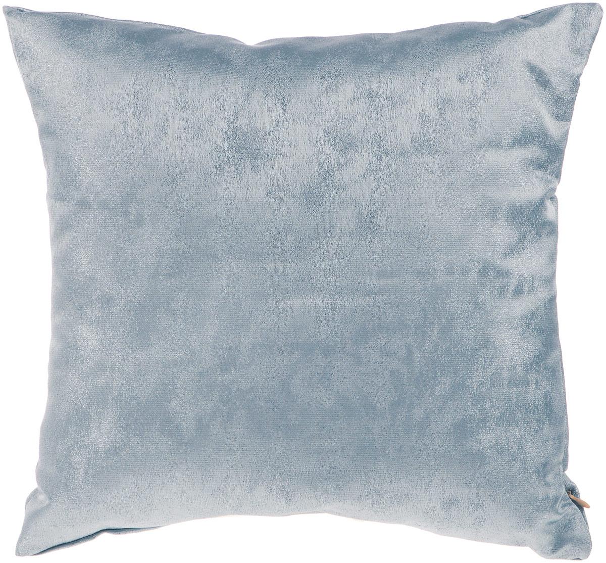 Подушка декоративная KauffOrt Магия, цвет: серо-синий, 40 x 40 смCLP446Декоративная подушка Магия прекрасно дополнит интерьер спальни или гостиной. Приятный на ощупь чехол подушки выполнен из полиэстера. Внутри находится мягкий наполнитель. Чехол легко снимается благодаря потайной молнии в тон ткани.Красивая подушка создаст атмосферу уюта и комфорта в спальне и станет прекрасным элементом декора.