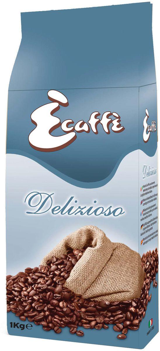 Caffitaly Ecaffe Delizioso кофе в зернах, 1 кг (с клапаном дегазации)0120710Эспрессо со сладким и изысканным вкусом из тщательно отобранной 100% Арабики. С низким содержанием кофеина – этот кофе для истинных ценителей удовольствия. Кофе упакован в пакетысклапаномдегазации, что обеспечивает сохранность вкусовых и ароматических свойств зерен в течение всего срока годности. Состав: 100% Арабика. Кислотность: 6,8/10. Крепость: 7/10. Регион: Бразилия, Эфиопия, Гватемала, Колумбия.