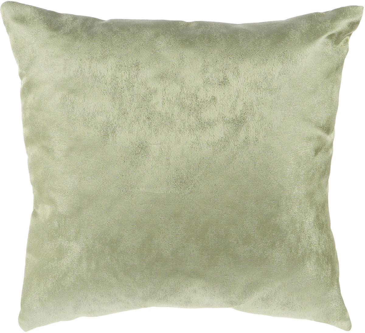 Подушка декоративная KauffOrt Магия, цвет: зеленый, 40 x 40 см3121909686Декоративная подушка Магия прекрасно дополнит интерьер спальни или гостиной. Приятный на ощупь чехол подушки выполнен из полиэстера. Внутри находится мягкий наполнитель. Чехол легко снимается благодаря потайной молнии в тон ткани.Красивая подушка создаст атмосферу уюта и комфорта в спальне и станет прекрасным элементом декора.
