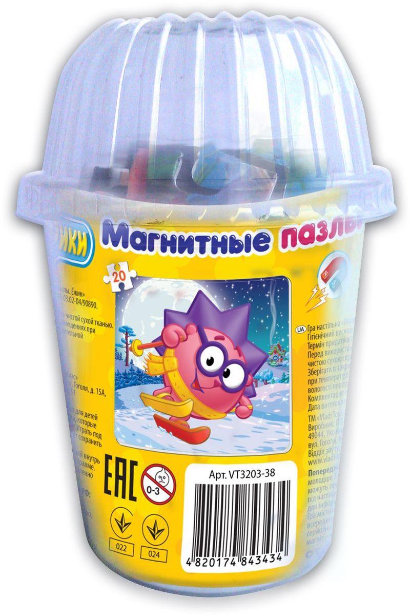 Vladi Toys Пазл для малышей Ежик VT3203-38 vladi toys магнитный кукольный театр репка
