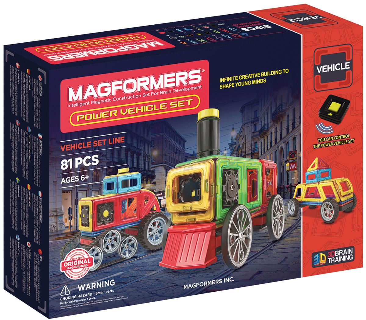 Magformers Магнитный конструктор Power Vehicle Set magformers my first magformers 30