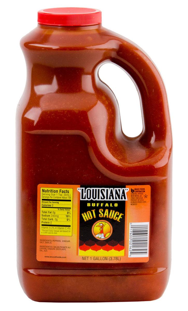 Louisiana Буффало соус острый перечный, 3,78 л0120710Louisiana Gold Буффало - острый перечный соус, лучшая приправа к блюдам из мяса, птицы, морепродуктов. Может использоваться как ингредиент для приготовления, маринад.