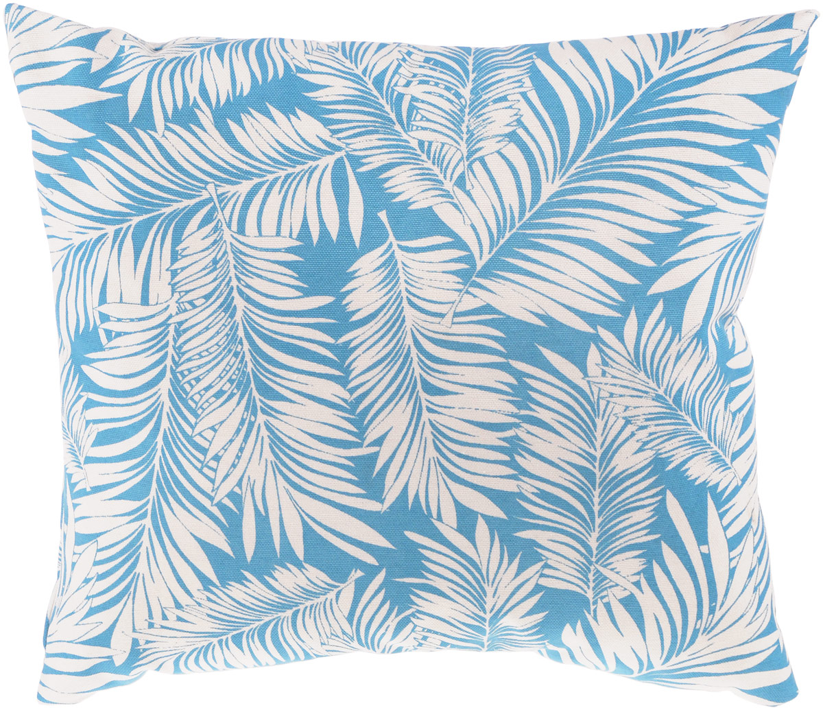 Подушка декоративная KauffOrt Лазурный берег, цвет: голубой, белый, 40 x 40 см3121043670Декоративная подушка Лазурный берег прекрасно дополнит интерьер спальни или гостиной. Очень нежный на ощупь чехол подушки выполнен из 75% хлопка и 25% полиэстера. Внутри находится мягкий наполнитель. Чехол легко снимается благодаря потайной молнии.Красивая подушка создаст атмосферу уюта и комфорта в спальне и станет прекрасным элементом декора.