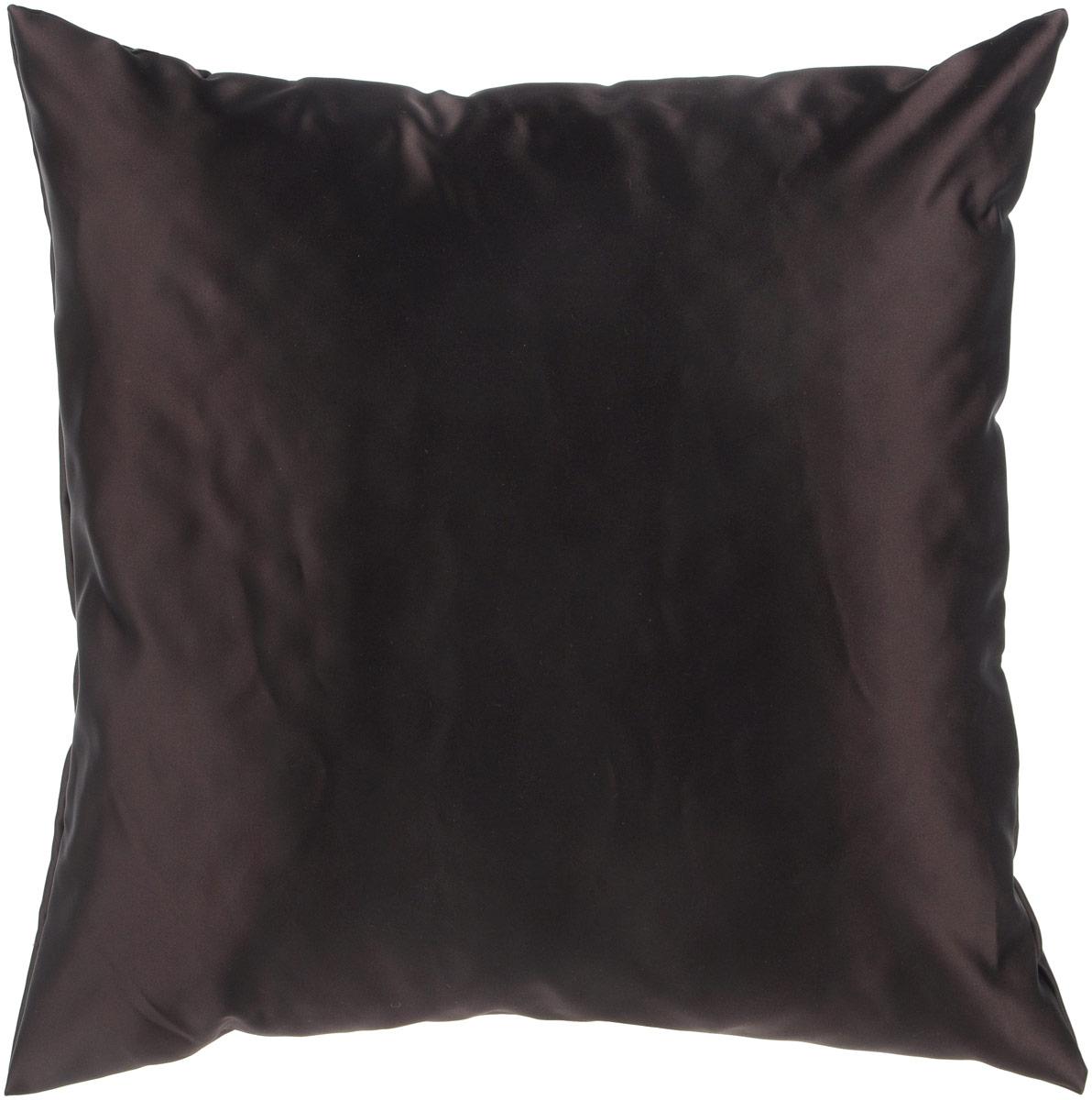 Подушка декоративная KauffOrt Крем, цвет: шоколадный, 40 x 40 смPO.FORT.SДекоративная подушка Крем прекрасно дополнит интерьер спальни или гостиной. Шелковый на ощупь чехол подушки выполнен из прочного полиэстера. Внутри находится мягкий наполнитель. Чехол легко снимается благодаря потайной молнии.Красивая подушка создаст атмосферу уюта и комфорта в спальне и станет прекрасным элементом декора.