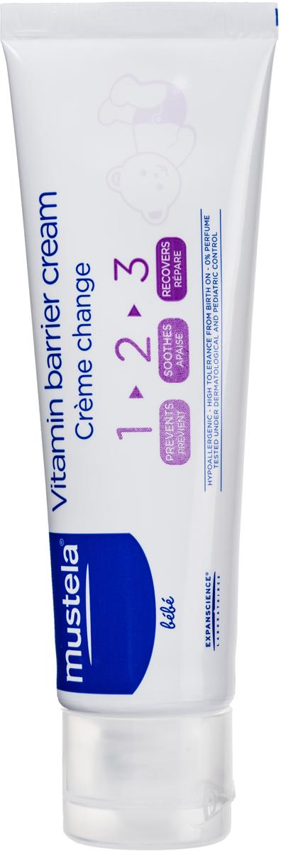Mustela Крем под подгузник 1-2-3 50 млМ022/G520Назначение: Крем под подгузник для детей с рождения.Разработано для минимизации риска аллергических реакций.Свойства:Комплекс активных ингредиентов защищает кожу при каждой смене подгузника, успокаивает и восстанавливает ее с первых применений.Оксид цинка защищает кожу, способствует уменьшению покраснений кожи.98% ингредиентов природного происхождения.Без отдушек, без консервантов.Инструкция по использованию: Наносите крем толстым слоем при каждой смене подгузника на чистую сухую кожу малыша. В случае мокнущих или не заживающих ран необходимо обратиться к врачу.