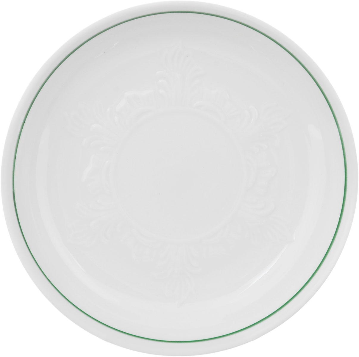 Блюдце Фарфор Вербилок, диаметр 14 см. 76811607681160Блюдце Фарфор Вербилок выполнено из высококачественного фарфора. Изделие идеально подойдет для сервировки стола и станет отличным подарком к любому празднику.Диаметр блюдца (по верхнему краю): 14 см.Высота блюдца: 2,5 см.