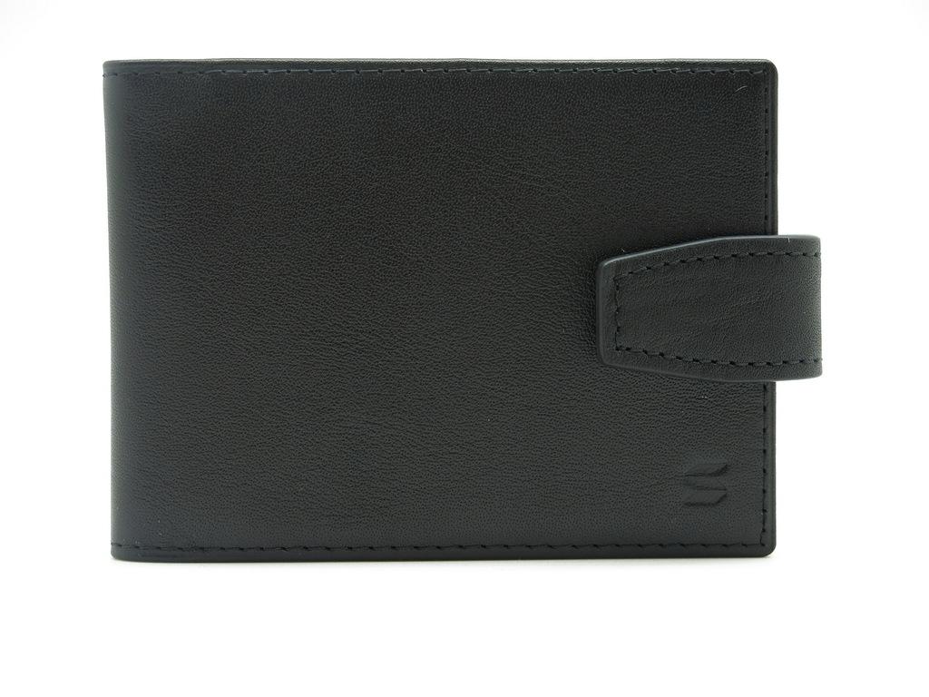Визитница Soltan, цвет: черный. 560 01 01INT-06501Визитница Soltan выполнена из натуральной кожи. Модель имеет 10 прозрачных файлов для карточек и застегивается на хлястик с кнопкой.