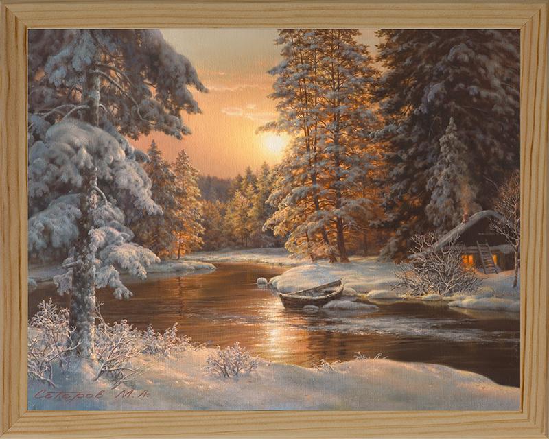 Картина Postermarket В зимнем лесу, 20 х 25 см12723Картина Postermarket В зимнем лесу прекрасно подойдет для декора интерьера различных помещений. Постер, выполненный в технике фотопечать, оформлен багетом бежевого цвета. Картина для интерьера (постер) - это современное и актуальное направление в дизайне помещений. Ее можно использовать для оформления любых помещений (дом, квартира, офис, бар, кафе, ресторан или гостиница). работоспособность. Правильное оформление интерьера создает благоприятный психологический климат, улучшает настроение и мотивирует.Размер картины: 200 x 250 мм.