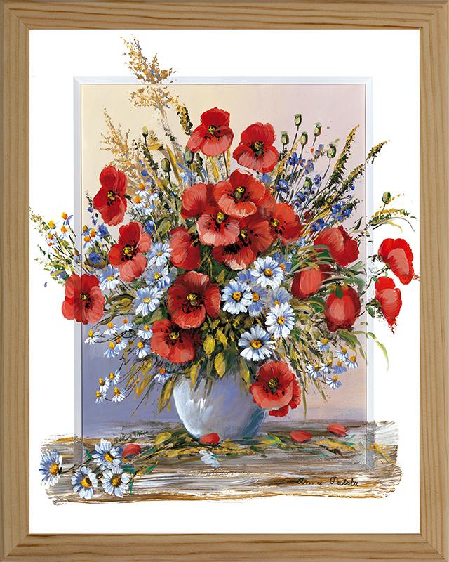 Картина Postermarket Полевые цветы, 20 х 25 смRG-D31SКартина Postermarket Полевые цветы прекрасно подойдет для декора интерьера различных помещений. Постер, выполненный в технике фотопечать, оформлен багетом бежевого цвета. Картина для интерьера (постер) - это современное и актуальное направление в дизайне помещений. Ее можно использовать для оформления любых помещений (дом, квартира, офис, бар, кафе, ресторан или гостиница). работоспособность. Правильное оформление интерьера создает благоприятный психологический климат, улучшает настроение и мотивирует.Размер картины: 200 x 250 мм.