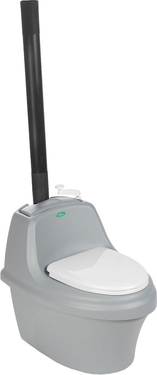 Биотуалет Piteco, цвет: серый, белый, 80 х 54 х 72 см531-105Торфяной биотуалет Piteco - это автономный компостирующий туалет, которому не требуется подсоединения к системе канализации и водоснабжения. Конструкция биотуалета разработана с целью создания максимально благоприятных условий для компостирования органических отходов. Изготовлен из сантехнического пластика (акрила), оснащен дренажной системой с фильтроэлементом.Размер туалета: 80 х 54 х 72 см.Высота до сиденья: 46 см.В комплекте пакет торфа объемом 30 литров для туалета.
