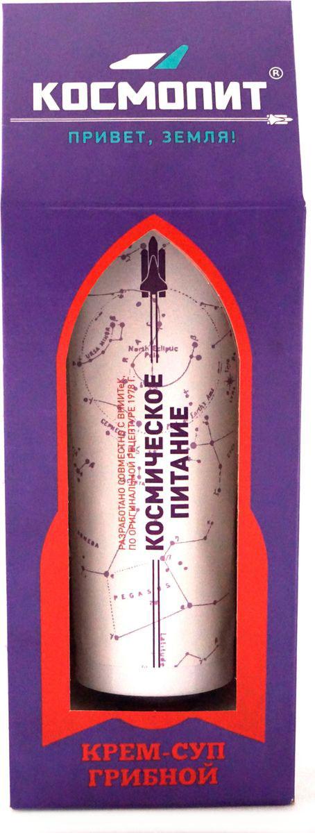 Космопит космическое питание крем-суп грибной, 165 г4750Уникальный продукт, в составе есть всё необходимое. В упаковке находится беспламенный автономный подогреватель - КосмоГрелка. Теперь можно провести настоящий химический эксперимент прямо не выходя из дома или офиса. Спиртовая салфетка для дезинфекции горлышка тубы и рук. КосмоКлюч - для удобства выдавливания и, конечно, информационно-познавательный вкладыш, который не оставит вас без интересной истории на вечер.