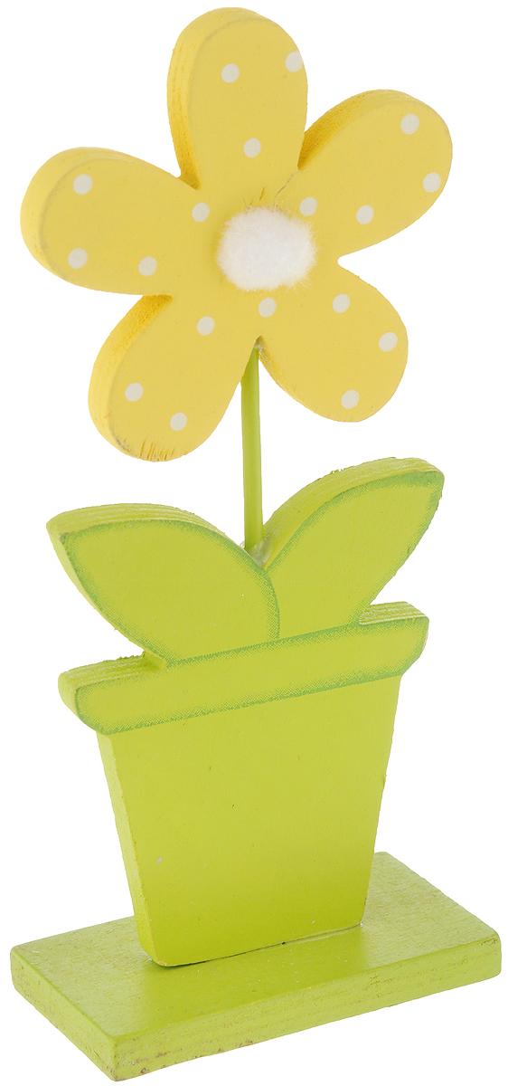 Фигурка декоративная House & Holder Пасха, высота 20,5 см20617Декоративная фигурка House & Holder Пасха изготовлена из дерева. Она выполнена в виде цветка в горшке. Такая фигурка будет оригинально смотреться в интерьере комнаты и станет прекрасным сувениром к любому случаю.Размер: 9 х 5 х 20,5 см.