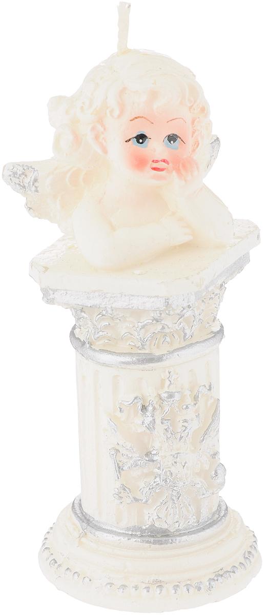 Свеча декоративная House & Holder Ангел, высота 11 смБрелок для ключейСвеча House & Holder Ангел, изготовленная из парафина, станет прекрасным украшением интерьера помещения. Такая свеча создаст атмосферу таинственности и загадочности и наполнит ваш дом волшебством и ощущением праздника. Хороший сувенир для друзей и близких.