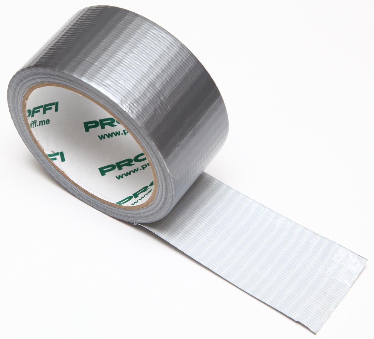 Сантехническая лента Proffi, 48мм х 25м21395599Лента ЛПА серая 48 мм х 25мАдгезия к стали - не менее 6 Н/см; липкость - не менее 7 Н/см; температура применения - +5 …+45 (+/-5) °C; температура эксплуатации - -25 …+75 (+/-5) °C; прочность на разрыв - 40 Н/см