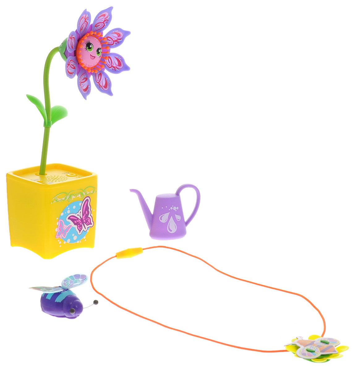 Magic Blooms Интерактивная игрушка Волшебный цветок с ожерельем и волшебным жучком