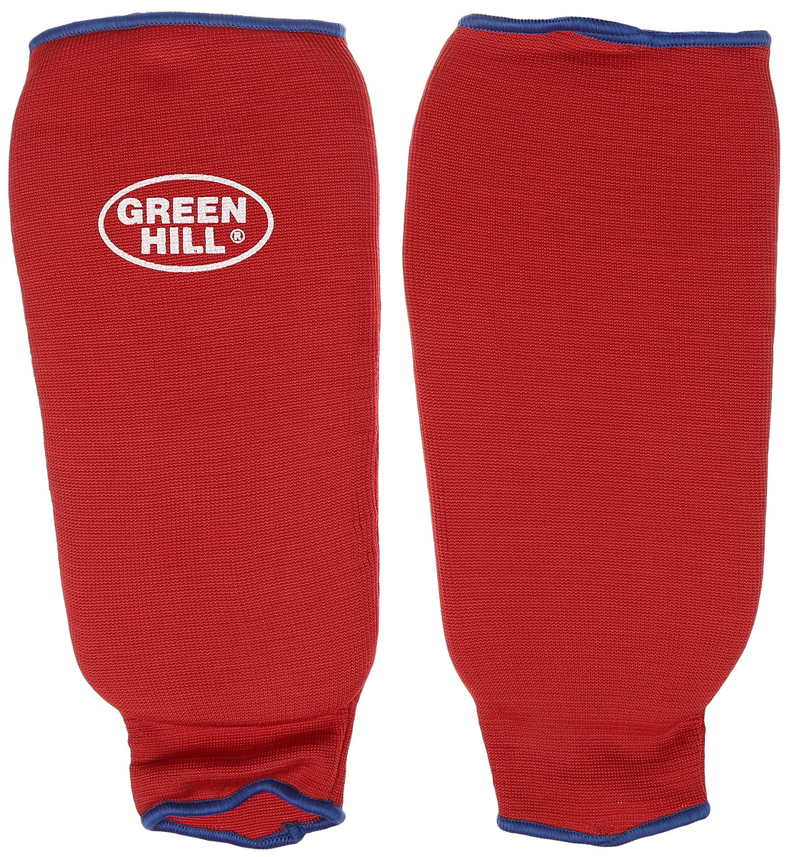 Защита голени Green Hill, цвет: красный, синий. Размер XL. SPC-6210