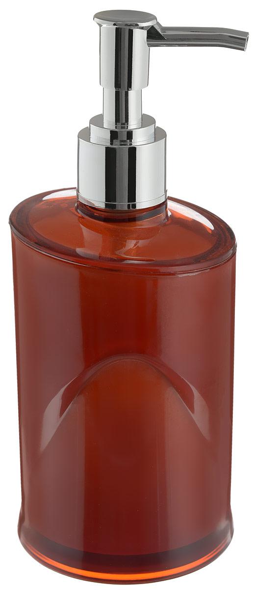Дозатор для жидкого мыла Indecor, цвет: коричневый, серый, 300 мл74-0120Дозатор для жидкого мыла Indecor, изготовленный из пластика, отлично подойдет для вашей ванной комнаты. Такой аксессуар очень удобен в использовании, достаточно лишь перелить жидкое мыло в дозатор, а когда необходимо использование мыла, легким нажатием выдавить нужное количество. Дозатор для жидкого мыла Indecor создаст особую атмосферу уюта и максимального комфорта в ванной.Размер дозатора: 7 х 7 х 16,5 см.Объем дозатора: 300 мл.