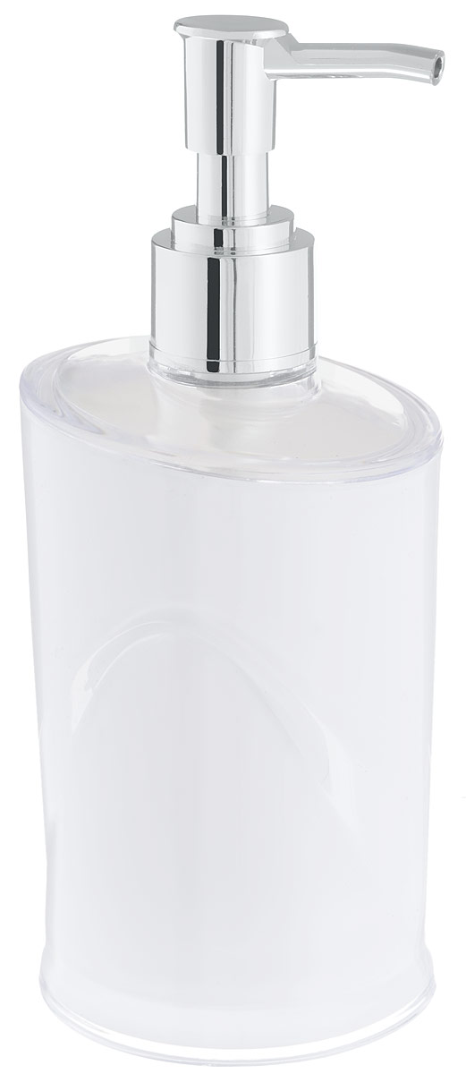 Дозатор для жидкого мыла Indecor, цвет: белый, серый, 300 млBH-UN0502( R)Дозатор для жидкого мыла Indecor, изготовленный из пластика, отлично подойдет для вашей ванной комнаты. Такой аксессуар очень удобен в использовании, достаточно лишь перелить жидкое мыло в дозатор, а когда необходимо использование мыла, легким нажатием выдавить нужное количество. Дозатор для жидкого мыла Indecor создаст особую атмосферу уюта и максимального комфорта в ванной.Размер дозатора: 7 х 7 х 16,5 см.Объем дозатора: 300 мл.