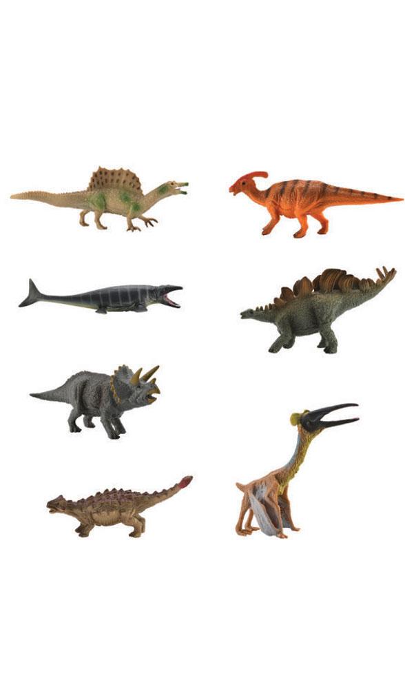 Collecta Набор фигурок Динозавры 7 шт A1133 collecta анкилозавр коричневый l 17 см
