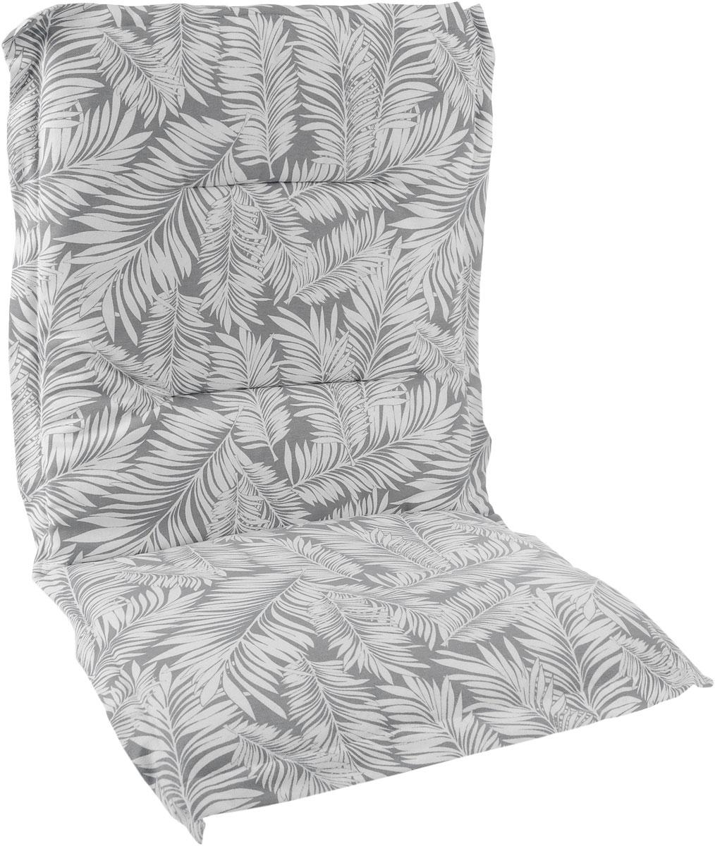 Подушка на стул KauffOrt Пальма, со спинкой, 50 x 100 см5со6872Подушка на стул KauffOrt Пальма не только красиво дополнит интерьер кухни, но и обеспечит комфорт при сидении. Чехол выполнен из поликоттона (хлопок и полиэстер) и украшен принтом. Внутри - мягкий наполнитель из поролона. Подушка легко крепится на стул с помощью завязок и резинки. Правильно сидеть - значит сохранить здоровье на долгие годы. Жесткие сидения подвергают наше здоровье опасности. Подушка с мягким наполнителем поможет предотвратить многие беды, которыми грозит сидячий образ жизни.