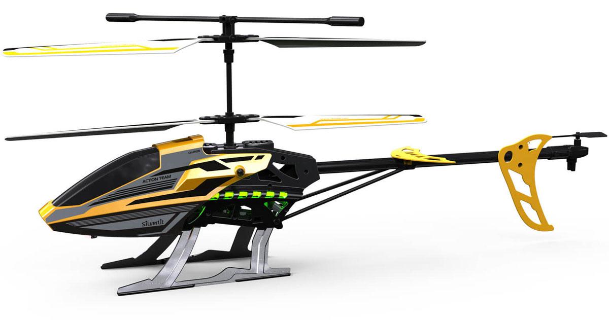 Silverlit Вертолет на радиоуправлении Sky Eagle III цвет черный желтый