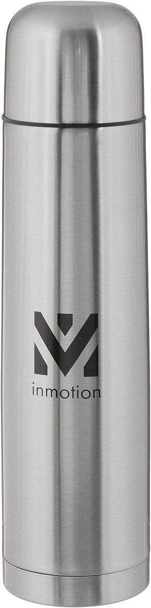 Термос Airline, цвет: металлик, черный, 1 лVT-1520(SR)Термос Airline выполнен из качественной нержавеющей стали, которая не вступает в реакцию с содержимым термоса и не изменяет вкусовых качеств напитка. Двойная стенка из нержавеющей стали сохраняет температуру ваших напитков до 20 часов.Вакуумный закручивающийся клапан предохраняет от проливаний, а удобная кнопка-дозатор избавит от необходимости каждый раз откручивать крышку. Крышку можно использовать как чашку. Данная модель термоса прочная, долговечная и в тоже время легкая. Изделие упаковано в удобный чехол. Стильный металлический термос понравится абсолютно всем и впишется в любой интерьер кухни.Не рекомендуется мыть в посудомоечной машине.Диаметр горлышка: 5 см.Диаметр основания термоса: 8 см.Высота термоса: 31 см.