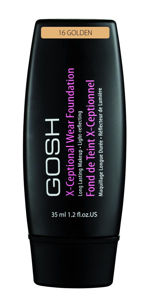 Gosh, Тональный крем для лица X-Ceptional Wear устойчивый, 35 мл, 161160N10870Мягкий устойчивый тональный крем – это прекрасное средство для защиты вашей кожи. Специально разработанная формула, содержащая увлажняющие и питательные компоненты, великолепно ухаживает за вашей кожей в течение всего дня. Придаёт коже бархатистость. Отсутствие эффекта стягивания!