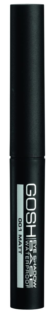 Gosh, Основа под макияж для век Eyeshadow Base Waterproof водостойкая, 2,5 мл134.138Водостойкая матовая база под тени идеально подойдет для любого вида теней. Мягкая шелковистая текстура легко распределяется и значительно продлевает стойкость теней, а также придает им водостойкий эффектПРЕИМУЩЕСТВА:Делает тени водостойкимиИдеальная база под все виды сухих тенейНе требует затачиванияБез консервантовБез отдушек и парабенов