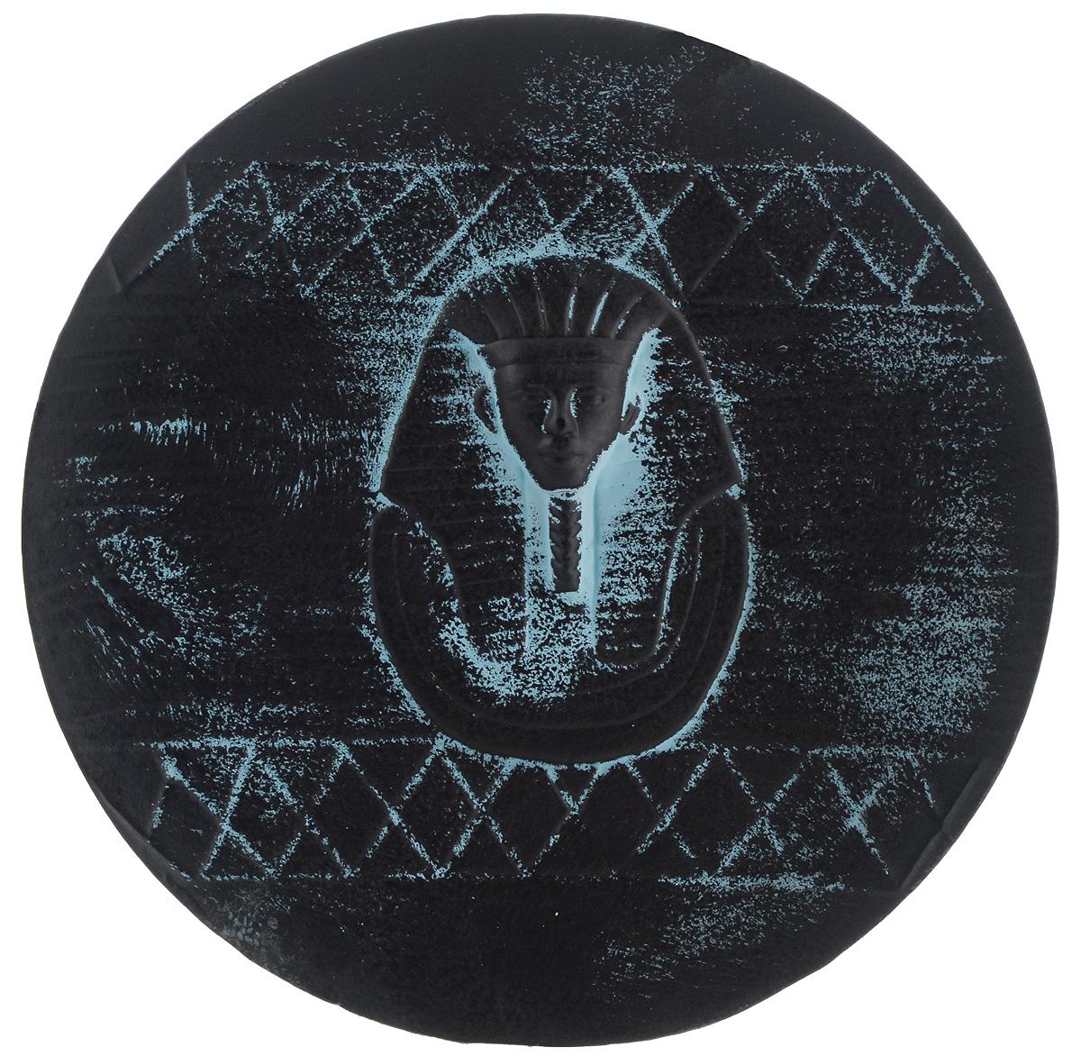 Тарелка декоративная House & Holder, диаметр 22 см. PX9047498298123_черныйТарелка House & Holder выполнена из высококачественной керамики. Тарелка круглой формы украшена оригинальным принтом. Она сочетает в себе оригинальный дизайн с максимальной функциональностью.Диаметр тарелки: 22 см.Высота: 2,2 см.