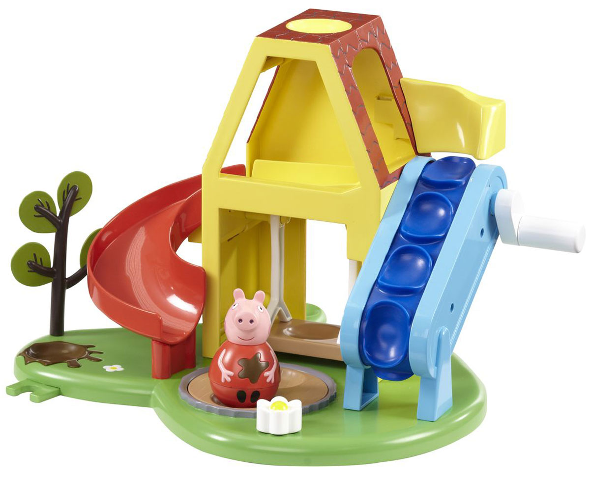 Peppa Pig Игровой набор Площадка Пеппы-неваляшки игровой набор peppa pig игровая площадка горка пеппы 28774