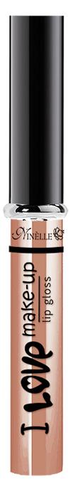 Ninelle Блеск для губ I Love Make-Up № 01, 7мл28032022Блеск для губ с нежной комфортной текстурой и легким женственным ароматом.Не содержит блесток и перламутровых частиц. Создает на губах тонкое и при этом выразительное глянцевое покрытие с мягким переливом цвета. Удобный аппликатор с выделенным кончиком позволяет точно распределять продукт по форме губ.