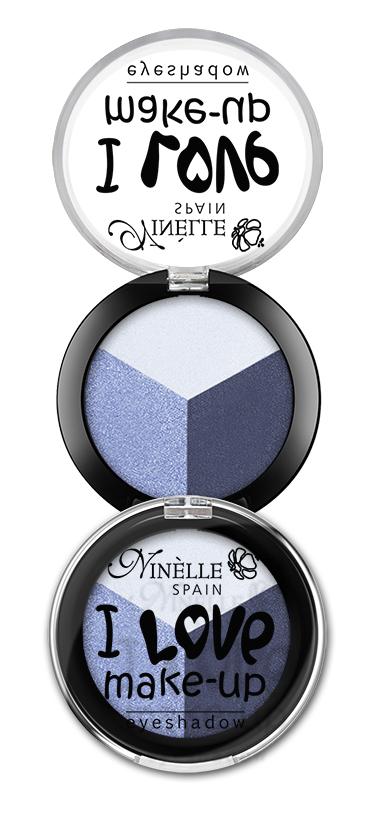 Ninelle Тени для век I Love Make-Up №604, 2.5г тени ninelle набор теней для век fashion box марки ninelle 5