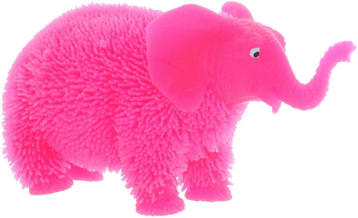 HGL Фигурка Слон с подсветкой цвет розовый