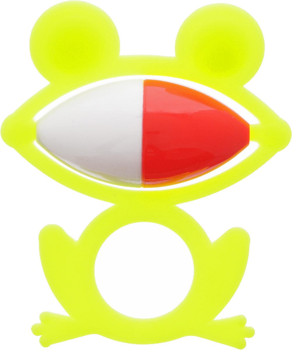 Аэлита Погремушка Лягушонок цвет лимонный