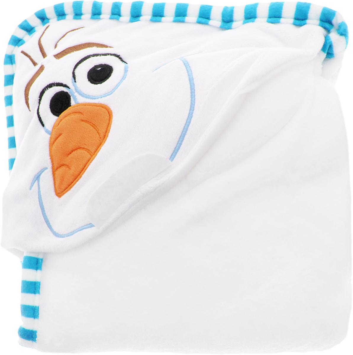 Disney Плед детский с капюшоном Olaf520313Детский плед с капюшоном Disney Olaf - удивительная и многофункциональная вещь, от приобретения которой выиграют все. Родители - потому что получают для своих любимых чад тёплое и мягкое покрывальце. Дети - потому что мягкий плед может использоваться как накидка или пончо, а это отличная возможность преобразиться из мальчика или девочки в любимого героя. Данная текстильная продукция занимает высокие позиции на потребительском рынке благодаря своему оригинальному дизайну и безопасным материалам.