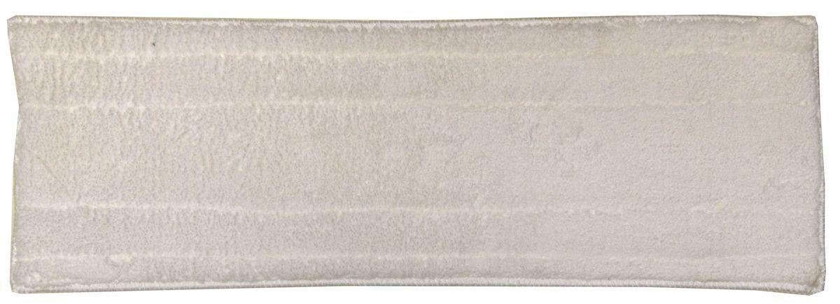 Тряпка на швабру Коллекция Бабочка, цвет: белый, 13 x 43 смNN-604-LS-BUТряпка для швабры изготовлена из микрофибры. Тряпка гарантирует непревзойденную чистоту при сухой и влажной уборке. Она идеальна для стеклянных и блестящих поверхностей, так как не оставляет разводов и ворсинок. Тряпка удаляет большинство жирных и маслянистых загрязнений без использования химических средств. Не царапает поверхность, поэтому подходит для безопасной уборки любых поверхностей.Размер тряпки: 13 x 43 см.