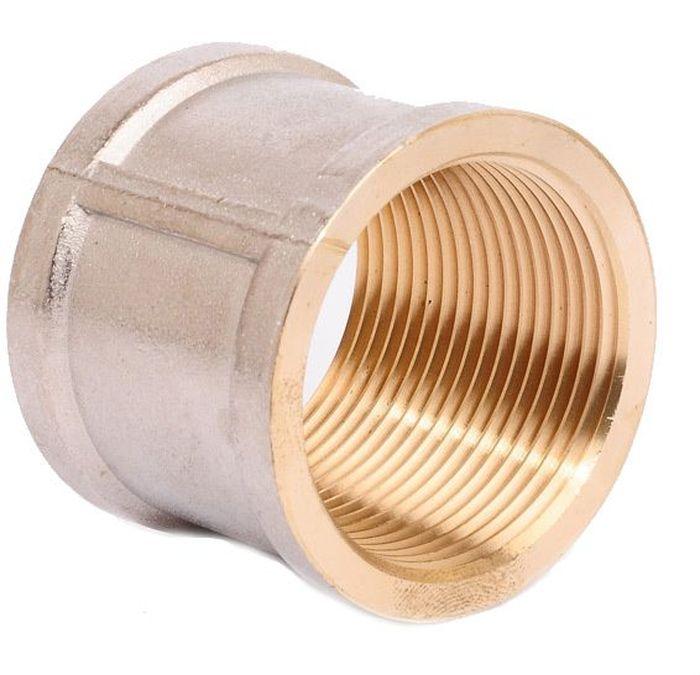Муфта U-Tec, с фаской, 1/2BL505Муфта U-Tec прошла все необходимые испытания и по праву может считаться надежной! Применяется для водоснабжения и отопления. Корпус выполнен из никелированной латуни.Изделие застраховано полисом страхования ответственности качества товаров, что придает дополнительную уверенность покупателям. Присоединительный размер: 1/2.