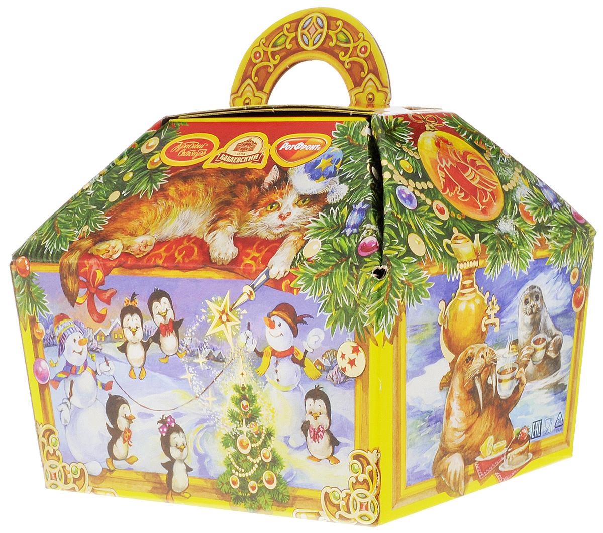 Объединенный кондитер Новогодний подарок Шоколадная шкатулка, 800 г4665270162139Новогодний подарок конфет Объединенный кондитер Шоколадная шкатулка станет отличным дополнением к новогоднему подарку родным и близким.Набор поставляется в подарочной упаковке в виде шкатулки.Противопоказано при индивидуальной непереносимости белка молока и/или яичного белка.Уважаемые клиенты! Обращаем ваше внимание на тот факт, что срок годности товара до 6 мая 2017.Состав набора:«Кара-Кум» (2 шт)«Маскарад» (2 шт)«Пралинэль» вкус грецкий орех (1 шт)«Пралинэль» с хрустящими шариками (1 шт)«Птичье молоко» вкус нежные сливки (1 шт)«Лебедушка» вкус Крем-Карамель» (2 шт)«Коровка» Любимая (1 шт)«Novella» (Новелла) с мягким ирисом (2 шт)«Novella» (Новелла) с желе вкус Лесные ягоды (1 шт)«Неженка» вкус - сгущенное молоко (2 шт)«Неженка» вкус - сливочный пломбир» (2 шт)«Ешкина коровка» СУПЕР сгущенка (1 шт)«Лакомка» молочно-шоколадный вкус (1 шт)«Мишка косолапый» (2 шт)«Красная шапочка» (1 шт)«Коровка» вкус Топленое молоко (2 шт)«Батончики «РОТ ФРОНТ» (1 шт)«Лакомка» ореховый Брауни (1 шт)«Коровка» 30 % молока (1 шт)«Ласточка - вестница весны» (2 шт)«Васильки» (1 шт)«Ешкина коровка» (2 шт)«Раковые шейки» (4 шт)«Гусиные лапки» (2 шт)«Сказка» вкус лимон-лайм (4 шт)«Сказка» вкус горячий шоколад (3 шт)«Сказка» со сгущенкой (4 шт) «Фея» (2 шт) «Мечта» (2 шт)«Москвичка» (2 шт)«Фруктик» барбарисовый вкус (4 шт)«Лакомка - Суперкакао» (3 шт)«Лакомка - Супермолочная» (4 шт)«Столичная любимая» (4 шт)шоколад молочный «Аленка» (1 шт) печенье сахарное «Мишка-топтыжка» вкус сгущенки (1 шт)вафли глазированные «Автогонки» (1 шт)зефир с черной смородиной в шоколадной глазури «Сладкие истории»Уважаемые клиенты! Обращаем ваше внимание, что полный перечень состава продукта представлен на дополнительном изображении.