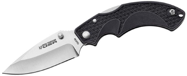 Нож складной Fox Forza, цвет: черный, длина клинка 8,2 см. OF/FKU-AMI-CP BLOF/FKU-AMI-CP BLудобный и качественный нож фирмы Fox. Ножи этой компании разрабатываются ведущими дизайнерами для гражданских людей, военных, правоохранительных, спасательных и других специальных войск.Общая длина ножа: 20,5 см.Длина клинка: 8,2 см.Толщина клинка: 3,5 мм.Вес ножа: 75 г.
