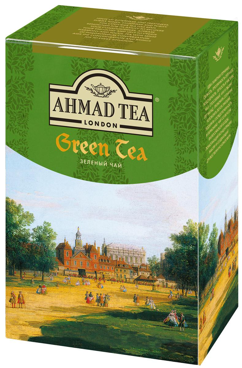 Ahmad Tea зеленый чай, 100 г1304-3Зеленый чай Ahmad Tea - это едва заметная горчинка, свежесть, прозрачность оттенков, воздушность, легкость и чистота. Чай, способный, как и тысячу лет назад, прояснить сознание, успокоить поток эмоций, подарить сосредоточенность и гармонию. Чай со вкусом философской беседы, помогающий концентрации мысли и создающий дружественную атмосферу.Уважаемые клиенты! Обращаем ваше внимание на то, что упаковка может иметь несколько видов дизайна. Поставка осуществляется в зависимости от наличия на складе.