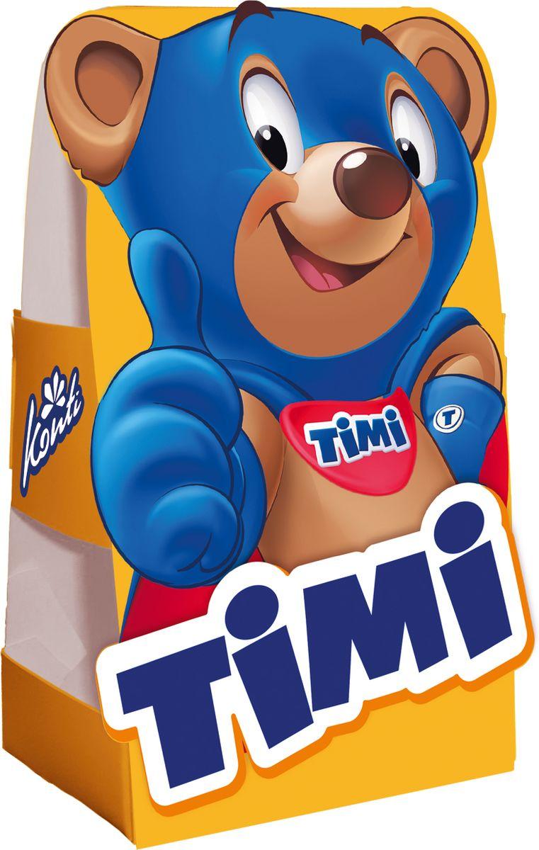 Конти рус Новогодний подарок 2016 Timi, 140 г13936Подарок с веселым медвежонком ТIMI теперь доступен в небольшом весовом формате. ТIMI - для детей и супер-идей.