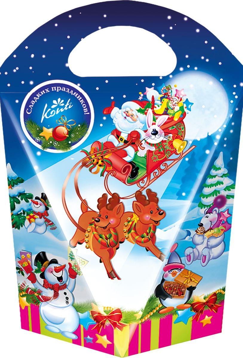 Конти рус Новогодний подарок 2016 Дивная ночь - Конти, 270 г14749Дедушка Мороз уже мчится к нам на настоящих санях!Этот подарок с легкостью поможет вам почувствовать приближениелюбимого праздника - Нового года.