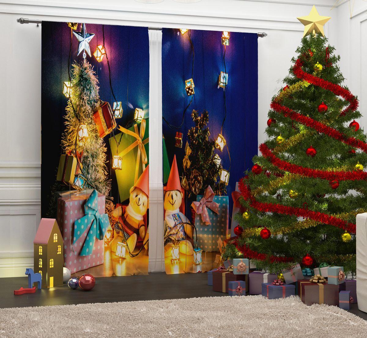 Фотошторы Сирень Новогодние мишки, на ленте, высота 260 см03522-ФТ-ВЛ-001Перед новогодними праздниками каждая хозяйка или хозяин хотят украсить свой дом. Мы предлагаем оригинальное решение, украсить Ваше окно фотошторами с новогодней тематикой. Новогодние фотошторы Сирень станут отличным подарком на Новый год. Подарите радость праздника себе и Вашим близким людям!Текстиль бренда «Сирень» - качество в каждом сантиметре ткани!Крепление на карниз при помощи шторной ленты на крючки.В комплекте: Портьера: 2 шт. Размер (ШхВ): 145 см х 260 см. Рекомендации по уходу: стирка при 30 градусах гладить при температуре до 150 градусов Изображение на мониторе может немного отличаться от реального.