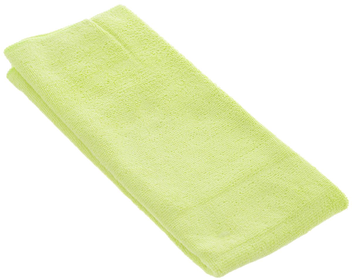 Салфетка чистящая Sapfire Large & Soft, цвет: лимонный, 60 х 50 смRC-100BWCЧистящая салфетка Sapfire Large & Soft выполнена из микрофибры (85% полиэстер, 15% полиамид). Каждая нить после специальной химической обработки расщепляется на 12-16 клиновидных микроволокон. Микрофибровое полотно удаляет грязь с поверхности намного эффективнее, быстрее и значительно более бережно в сравнении с обычной тканью, что существенно снижает время на проведение уборки, поскольку отсутствует Чистящая салфетка Sapfire Large & Soft выполнена из микрофибры (85% полиэстер, 15% полиамид). Каждая нить после специальной химической обработки расщепляется на 12-16 клиновидных микроволокон. Микрофибровое полотно удаляет грязь с поверхности намного эффективнее, быстрее и значительно более бережно в сравнении с обычной тканью, что существенно снижает время на проведение уборки, поскольку отсутствует необходимость протирать одно и то же место дважды. Салфетка обладает уникальной способностью быстро впитывать большой объем жидкости. Клиновидные микроскопические волокна захватывают и легко удерживают частички пыли, жировой и никотиновый налет, микроорганизмы, в том числе болезнетворные и вызывающие аллергию. Благодаря своей сетчатой структуре, легко удаляет с твердых поверхностей засохшую грязь, смолу и почки деревьев, прилипших насекомых. Протертая поверхность становится идеально чистой, сухой, блестящей, без разводов и ворсинок. Микрофибра устойчива к истиранию, ее можно быстро вернуть к первоначальному виду с помощью машинной стирки при малом количестве моющих средств. Состав салфетки: полиэстер (85%), полиамид (15%).Размер салфетки: 60 х 50 см.