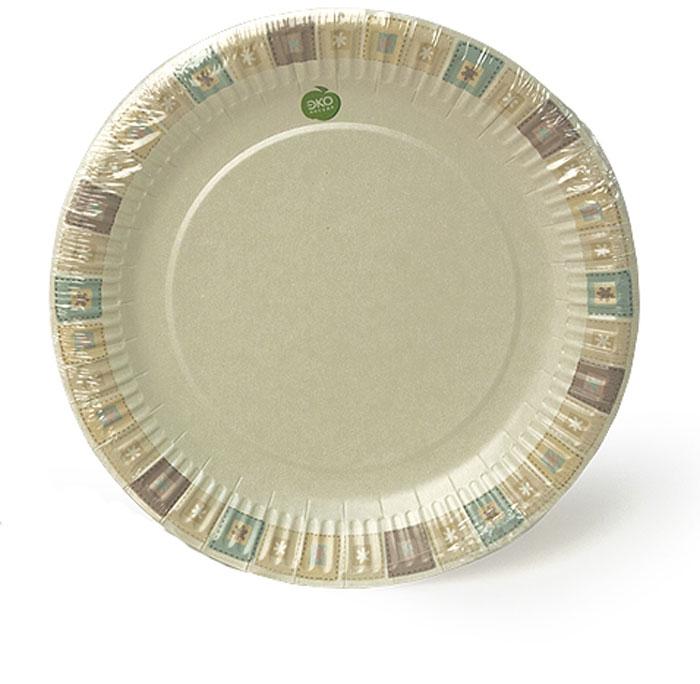 Набор тарелок Paterra Нарядные, бумажные, диаметр 23 см, 6 штПОС30516Набор тарелок Paterra Нарядные состоит из 6 тарелок и предназначены для украшения и сервировки стола во время мероприятий дома, в офисе, на даче, на пикнике. Пригодны для горячих блюд. Тарелки прочные, благодаря качеству и высокой плотности используемой при их изготовлении бумаги.Диаметр тарелки: 23 см.Количество в упаковке: 6 шт.