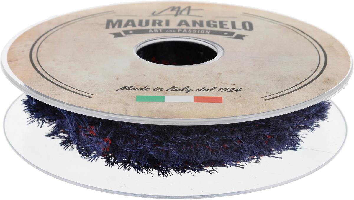 Лента декоративная Mauri Angelo, цвет: синий, красный, 1,3 см х 10 мC0042416Декоративная кружевная лента Mauri Angelo - текстильное изделие, которое тянется и применяется для отделки одежды, а также в оформлении интерьера, декоративных панно, скатертей, тюлей, покрывал. Декоративная кружевная лента Mauri Angelo станет незаменимым элементом в создании рукотворного шедевра. Ширина: 1,3 см.Длина: 10 м.